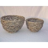 Buy cheap Willow flower pot from wholesalers