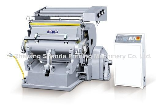 Quality Die Cutting Machine with Hot Stamping (TYMK-1100) for sale