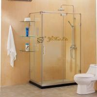 rectangular sliding door shower rooom