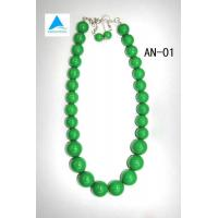 Acrylic Necklace with Earrings