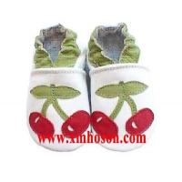 Wholesale YS2007-1 Baby Leather Shoes - Cherry from china suppliers
