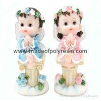 Buy cheap polyresin boy &resin girl statue from Wholesalers
