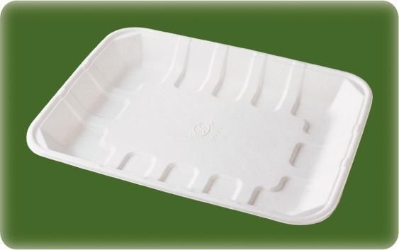 China Bagasse Food Tray T041/Vegetable tray
