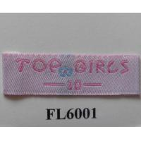 Buy cheap woven label FL6001 from Wholesalers