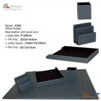 Wholesale Documents Cabinet 4394 leather desktop supply from china suppliers