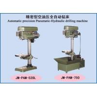 Wholesale Drilling machine series Automatic precision Pneumatic-Hydraulic drilling machine from china suppliers