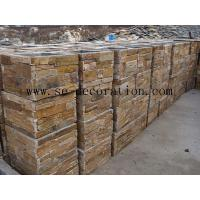 Wholesale Patchwork Product Namebrown slate square column from china suppliers