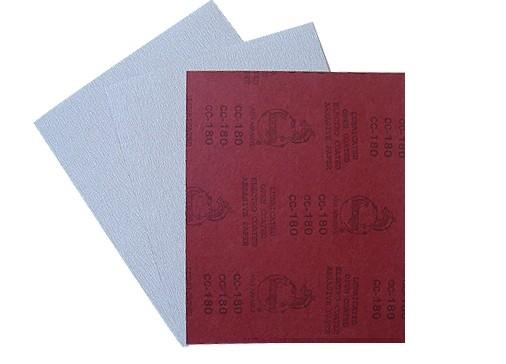 China Sand paper ZINC-STEARATE ABRASIVE PAPER(red