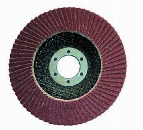 China Flap disc Aluminium Oxide flap discs with fiberglass backing