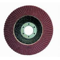 Buy cheap Flap disc Aluminium Oxide flap discs with fiberglass backing from wholesalers