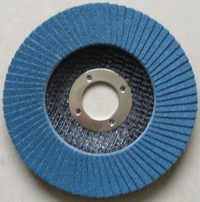 China Flap disc Zirconium flap discs with fiberglass backing