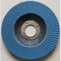 Buy cheap Flap disc Zirconium flap discs with fiberglass backing from wholesalers