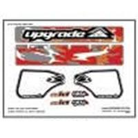 Wing Graphics UPG3210 Upgrade'Camo' Wing Decal for Losi 8ight Wing  - Red