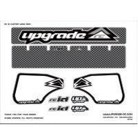 Wholesale Wing Graphics UPG3228 UpgradeUpgrade 'Carbon' Wing Decal for Hyper 8/ST Wing from china suppliers