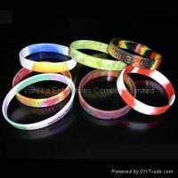Wholesale Silicone Wristband,Silicone Bracelets from china suppliers