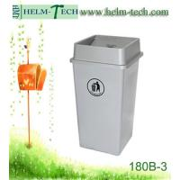 Buy cheap plastic product-square trash can-L-180B-3 from Wholesalers