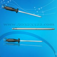 China knife sharpening rod,diamond sharpening steel on sale