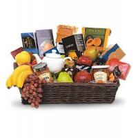 Wholesale Sympathy Grande Gourmet Fruit Basket [T213-1A] from china suppliers