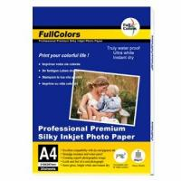 Wholesale RC Microporous Photo Paper 255gsm Premium Satin Inkjet Photo Paper from china suppliers