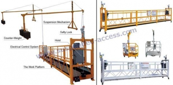 Suspended platform swing stage of item 35361514 for Swing stage motors sale