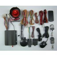 Buy cheap GSM car security alarm with gps tracking from wholesalers