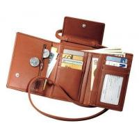 China Deluxe Passport Case With Removable Neck/Shoulder Strap in Top Grain LeatherItem #: 95145 on sale