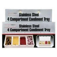 Buy cheap 4 compartment Condiment tray from wholesalers