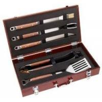 Wholesale Mr Bar B Q 02136X PD Forged 5-Piece Set in Wood Carrying Case | Gas Grills from china suppliers