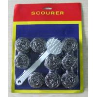 A6115D s/10 wire scourer with handle stocks