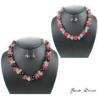Buy cheap 00491 Beaded Crystal Necklace Set from Wholesalers
