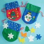 Buy cheap DK101 DecorateYourOwnChristmasDrawstringBag from Wholesalers