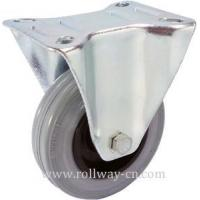 Buy cheap Fixed Csater+Rubber Wheel from Wholesalers