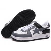 Wholesale Bape New and Better shoes grey / white / black from china suppliers