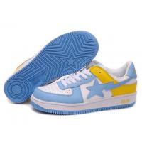 Wholesale Bape New and Better shoes blue / white / yellow from china suppliers