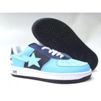 Wholesale Bape New and Better shoes light blue / black from china suppliers