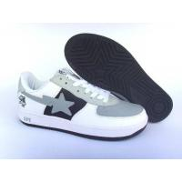Wholesale Bape New and Better shoes gray / white / black from china suppliers