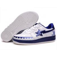 Wholesale Bape Classic Shoes - White / Blue from china suppliers