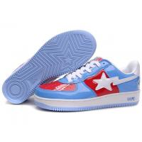 Wholesale Bape Cartoon shoes blue / red / black from china suppliers