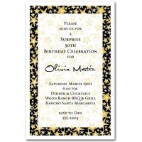 Buy cheap Gold Star Studded CelebrationParty Invitations from Wholesalers