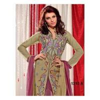 Buy cheap Heavy Yoke Embroidery Pattern Suit from Wholesalers