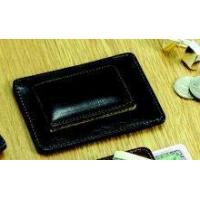 China Leather Card Holder and Money Clip #JG-10087 on sale