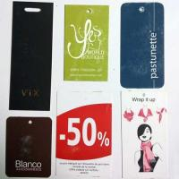 Wholesale Printed Garment Tags from china suppliers