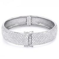Buy cheap Micro Pave 925 silver Bracelets from Wholesalers
