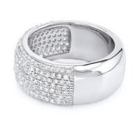 Micro Pave 925 silver Rings