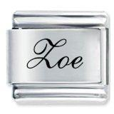 Wholesale Edwardian Script Font Name Zoe Italian Charm from china suppliers