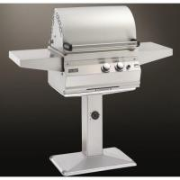 Buy cheap Fire Magic Gas Grills Aurora A430 Propane Gas All Infrared Grill With Rotisserie On Patio Post from wholesalers
