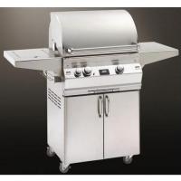 Buy cheap Fire Magic Gas Grills Aurora A430 Natural Gas All Infrared Grill With Single Side Burner On Cart from wholesalers