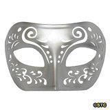 China Dream Tale Silver Venetian Masquerade Mask on sale