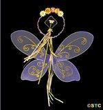 Buy cheap Purple Fairy Wings Costume Set from Wholesalers