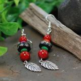 Wholesale Tibetan Leaf Pendant Earing from china suppliers